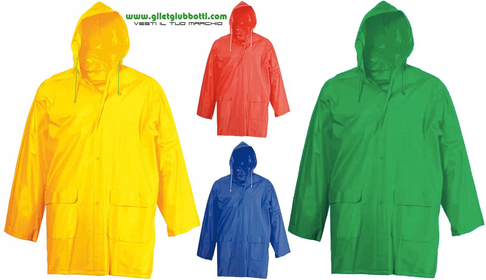 Giacca Pioggia Pioggia Tuta Raincoat pioggia pantaloni IMPERMEABLE 100/% PVC s-3xl BLU GIALLO